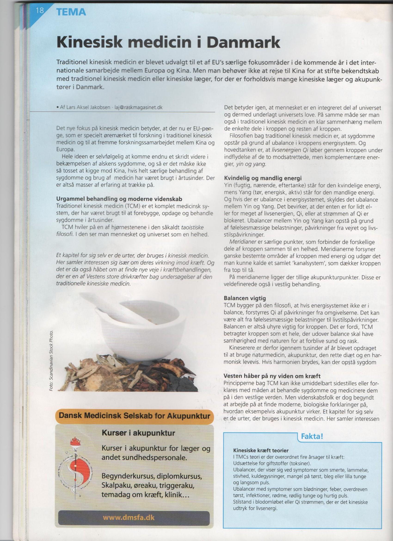 akupunktur uddannelse jylland